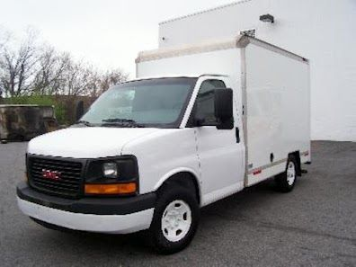 U Haul Truck For Sale 2003 Gmc G 3500 Savana Box Truck 4 8 Liter Vortec V8 Gas Engine Automatic Transmission T U Haul Truck Trucks For Sale Trucks