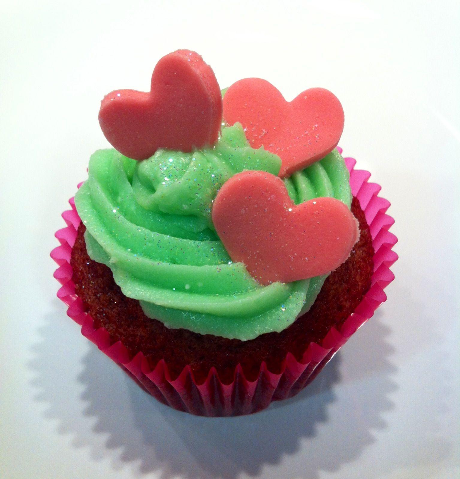 Cup cake san Valentín