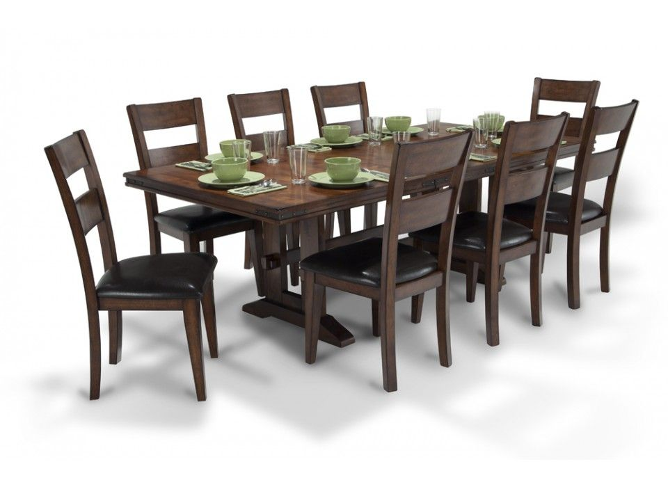 enormous dining 9 piece set  dining room sets  dining
