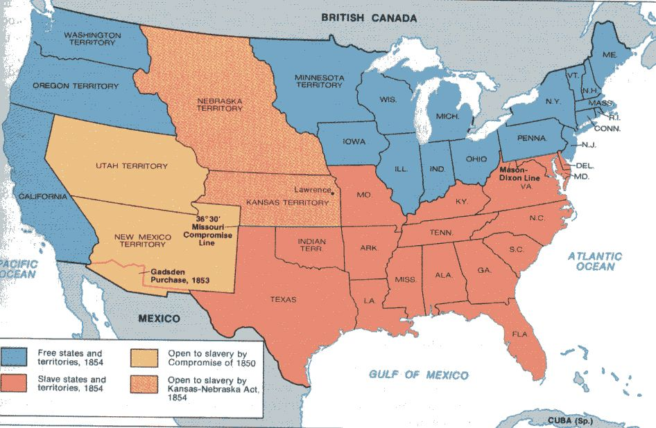 a history of the missouri compromise in the american civil war The missouri compromise was the first  a one term congressman began a battle over slavery that was only ended by the civil war  american history and world.