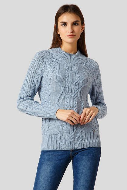 Pullover Mit Angesagtem Strickmuster Pullover Damen Pullover