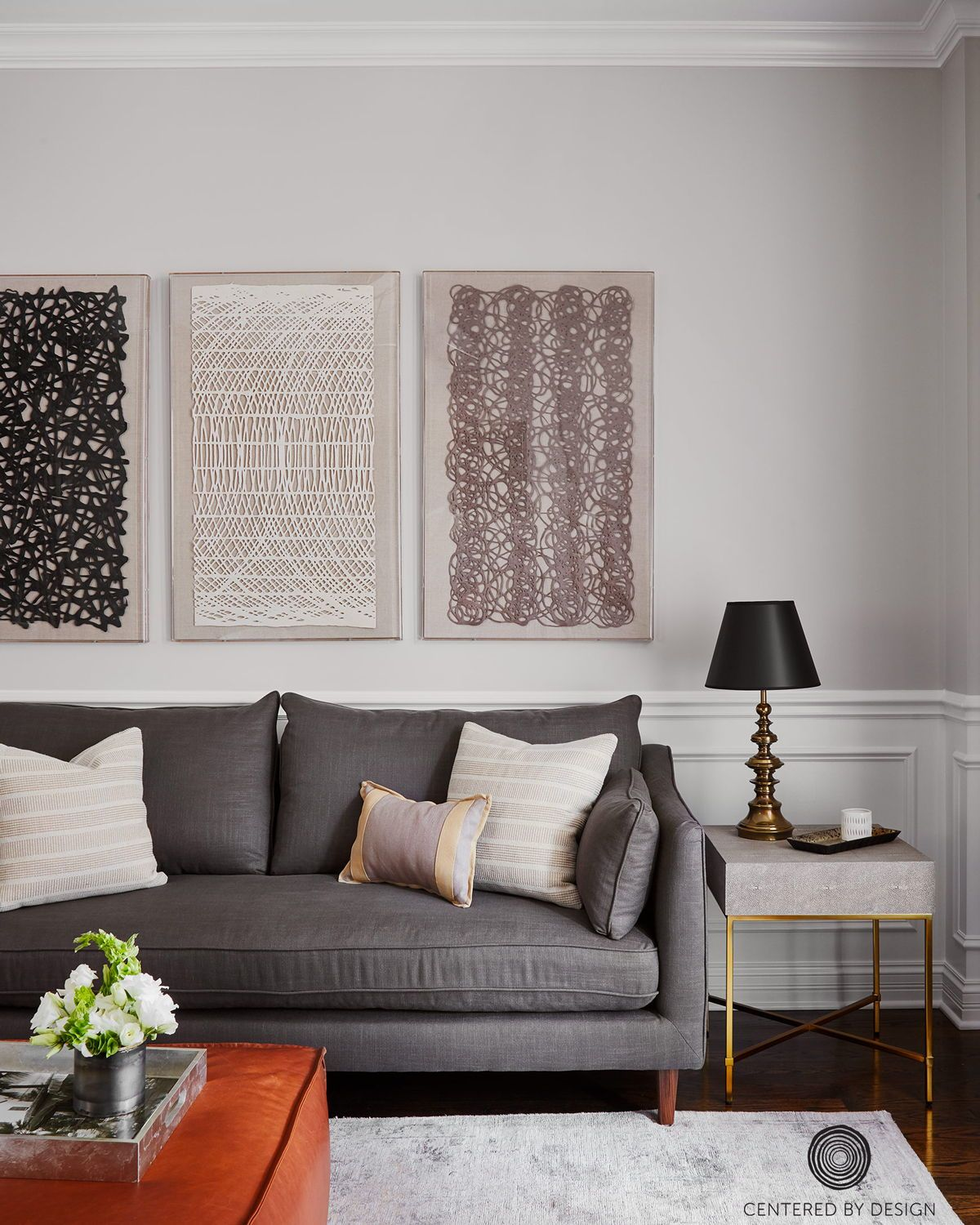 This Peaceful Living Room By Claire Staszak Of Centered By Design