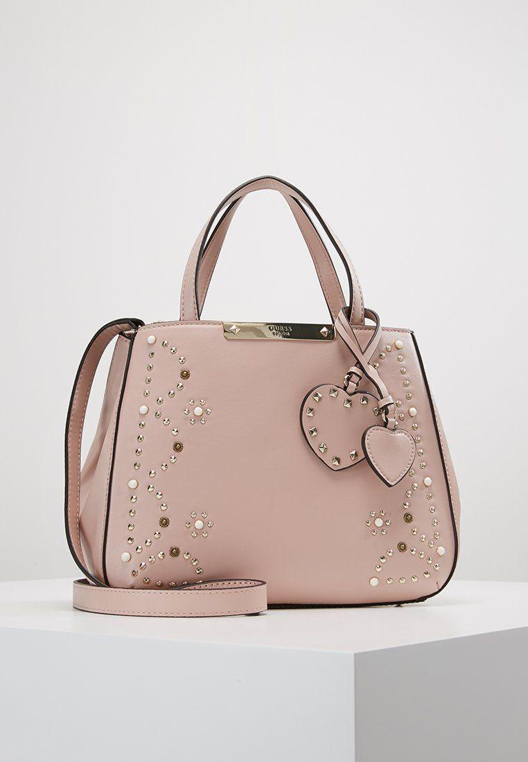c25d8f0cc658 Guess BRITTA SMALL SOCIETY SATCHEL - Handbag - nude - Zalando.co.uk