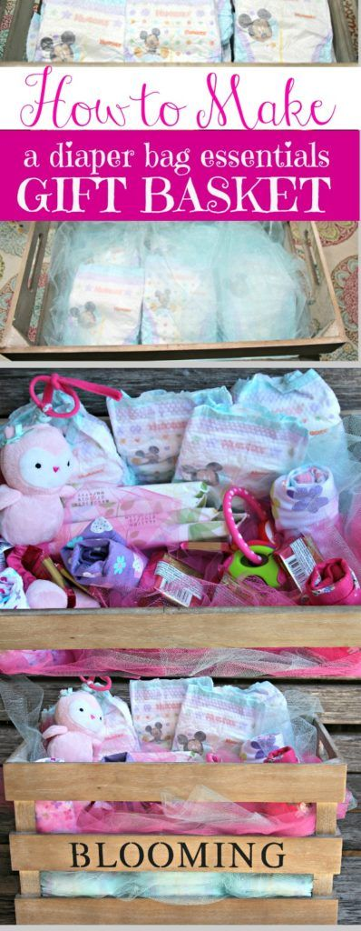 Easy to make, cute and practical gift for a new mom from a been-there-done-that mom. |baby gift ideas|baby shower gift ideas|new baby gift ideas|diapers|diaper bag ideas|babies|gifts|easy crafts| #SuperAbsorbent #ad @Costco
