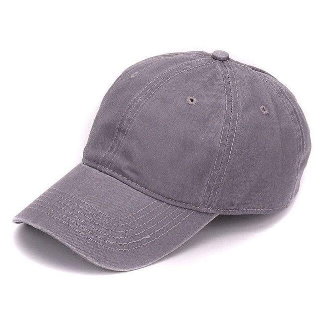 soft mesh baseball caps front brim hat plain dyed sand washed cotton cap blank dad embroidery