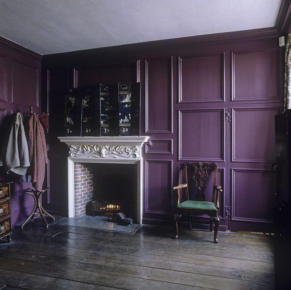 plum divinity / purple / boho / bohemian / goth / interior design ...