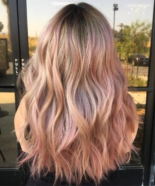 20 Rose Gold Haarfarbe Ideen Tipps Wie Färben Extraordinary