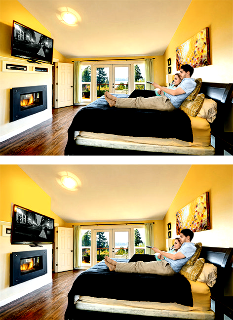 Mantelmount Is Perfect In The Bedroom Watch Your Tv At The In