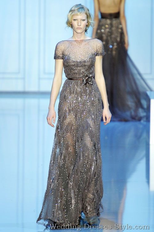Gorgeous attire for Wedding --Elie Saab 2011 FallWinter Haute Couture Collection (31)