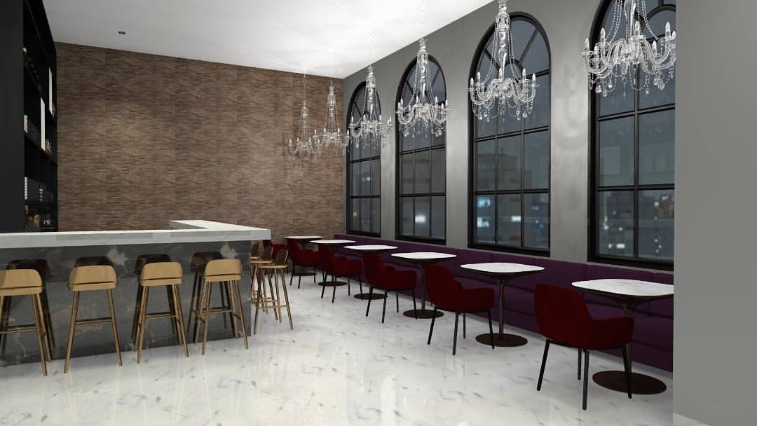 Café Casarão – designer de interiores Kamila Nolasco