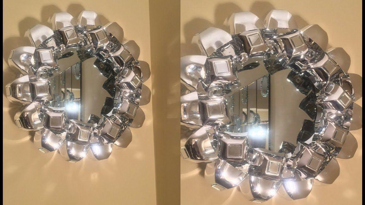 Dollar Tree/Michael's DIY Easy Decorative Wall Mirror