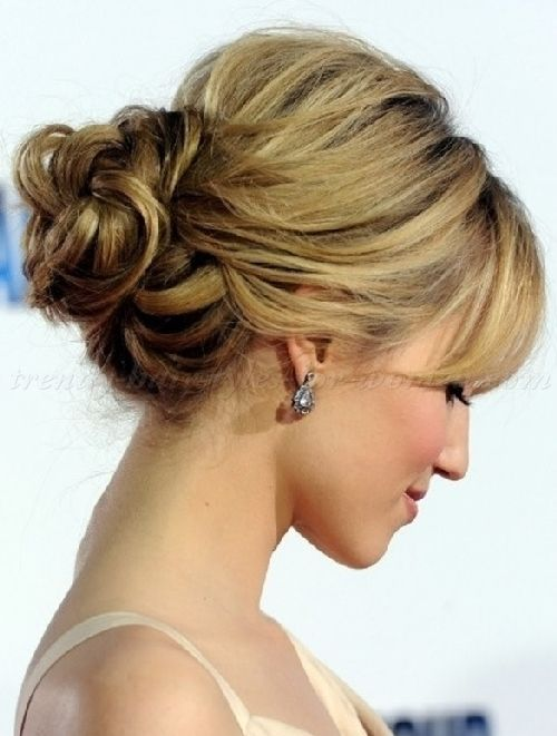 chignon hairstyles , loose low bun hairstyle