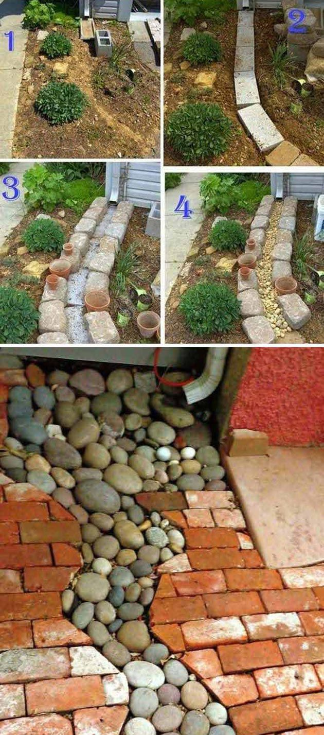 Fun And Useful Downspout Landscaping Ideas Pinterest Landscaping