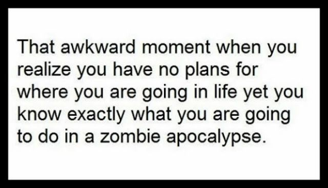 A Lazy Girl S Zombie Apocalypse Survival Plan Blazing Speed Of Light Machines Apocalypse Quote Funny Quotes Zombie Quotes