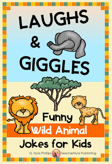 Animal jokes and facts book