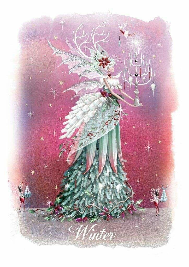 Christmas Fairy with Chandelier | Рождество | Pinterest | Fee ...