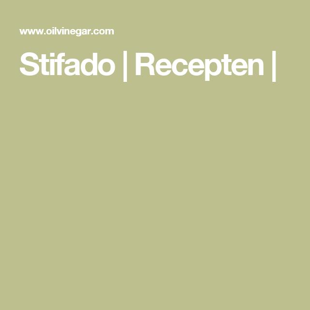 Stifado | Recepten |