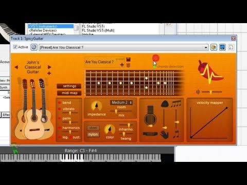 Spicy Guitar Vst Instrument In Mixcraft How To Record Virtual Guitars Mixcraft 6 Tutorial Guitar Acoustic Guitar Instruments