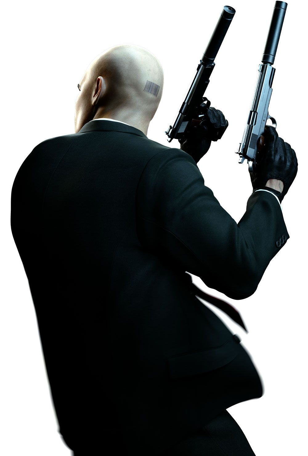 Agent 47 Turned Characters Art Hitman Absolution Hitman