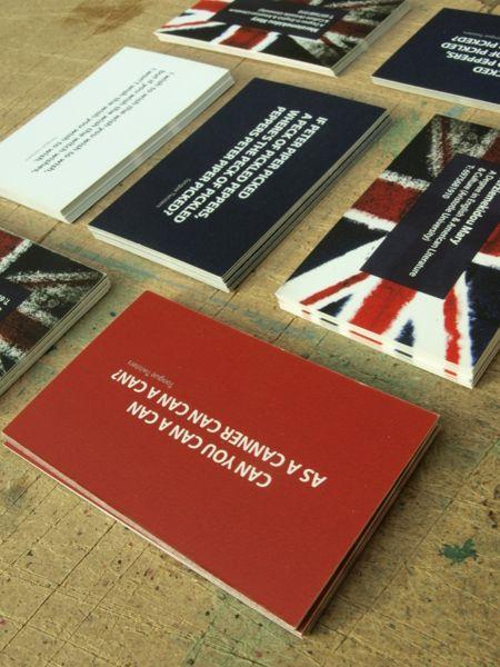 Business cards for English Teacher (concept) by eva merzie, via ...