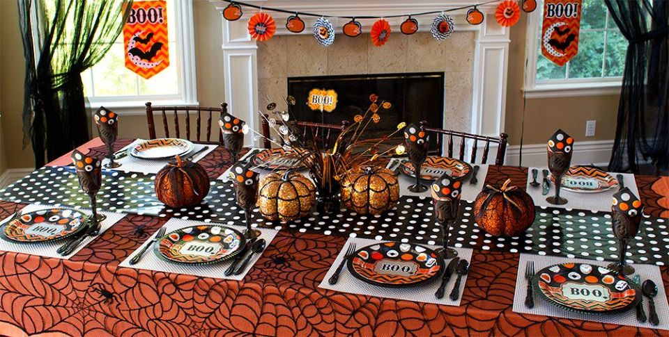 Halloween decoration ideas for dining table Special Event Design - indoor halloween decoration ideas