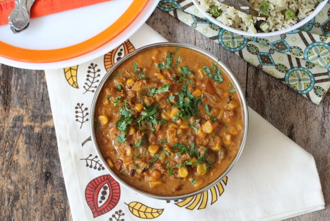 Sweet corn curry recipe indian vegetarian dishes sweet corn and sweet corn curry sweet corn recipesbest forumfinder Choice Image