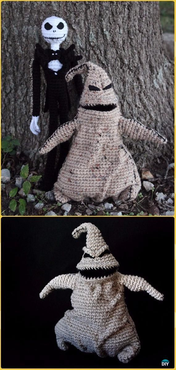 Crochet Halloween Amigurumi Free Patterns Instructions | Tejido ...