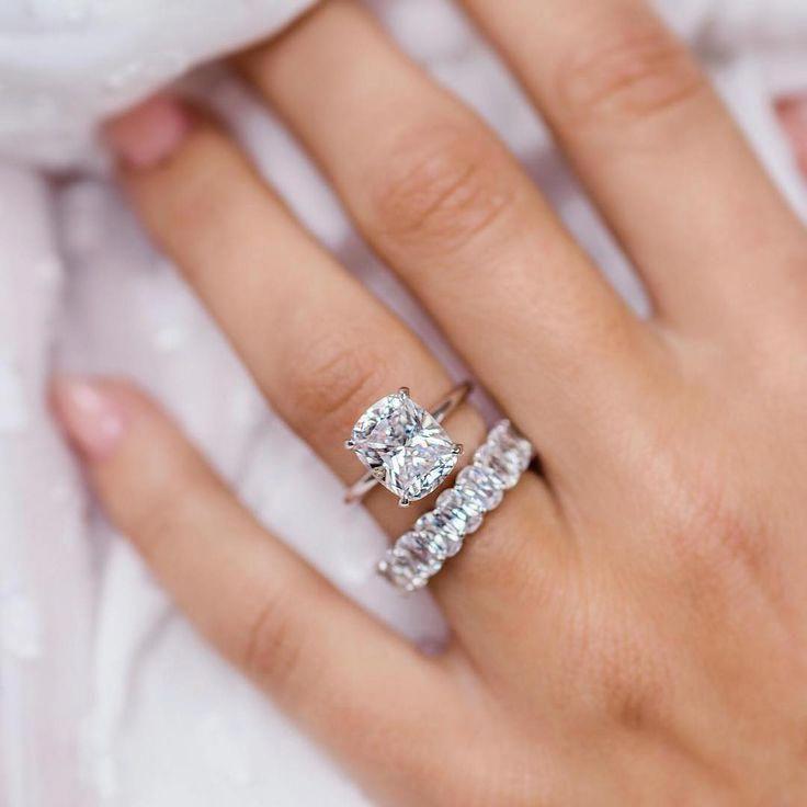 E V E R L Y R I N G S On Instagram Elongated Cushion The Post E V E R L Y Aquamarine Engagement Ring Moonstone Engagement Ring Engagement Ring White Gold