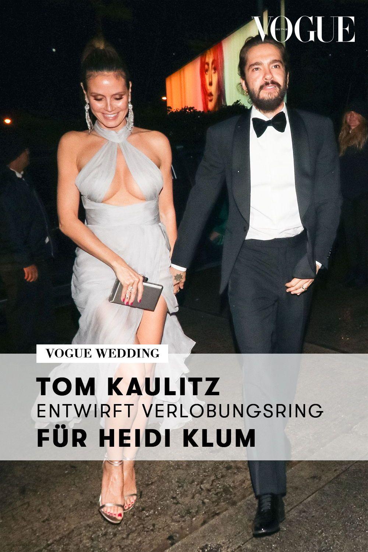 Ein Echtes Unikat Tom Kaulitz Hat Den Verlobungsring Fur Heidi Klum Entworfen Ring Verlobung Verlobungsring Verlobung