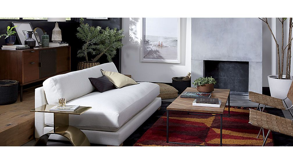 Piazza Apartment Sofa Cb2 Stylish Living Room Living Room