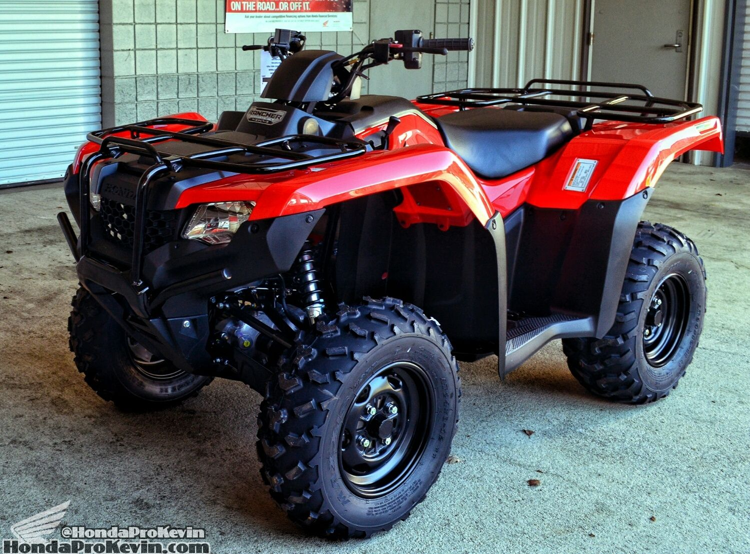 2016 Honda Rancher 420 Atv Ride Review Specs 4x4 Four Wheeler Trx420