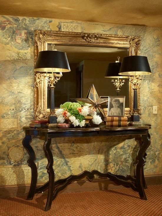 entryway decorations ideas inspirations foyer table. Black Bedroom Furniture Sets. Home Design Ideas