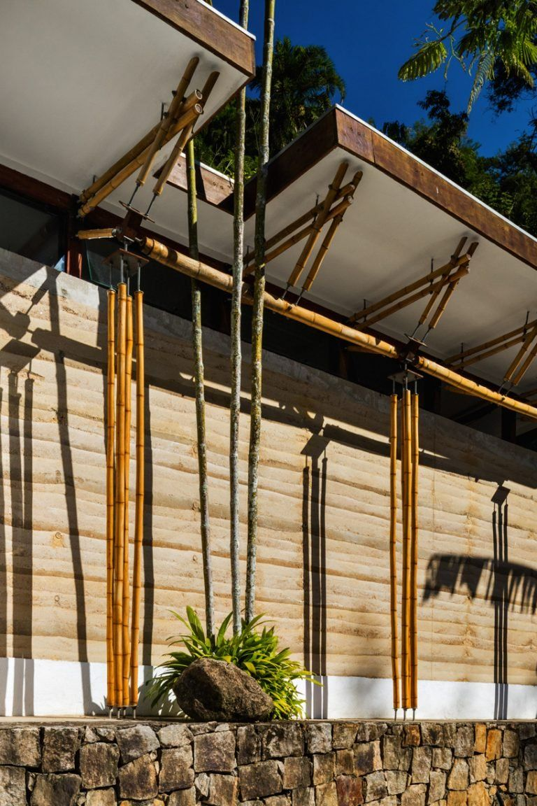 Cru Architects Guesthouse In Brazil Made Of Rammed Earth And