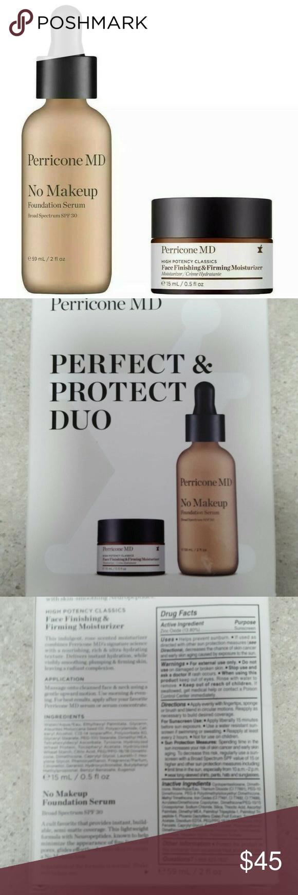 Perricone MD No Makeup Foundation Serum Golden Makeup