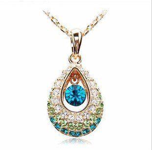 Austrian rhinestone crystal Pendant only