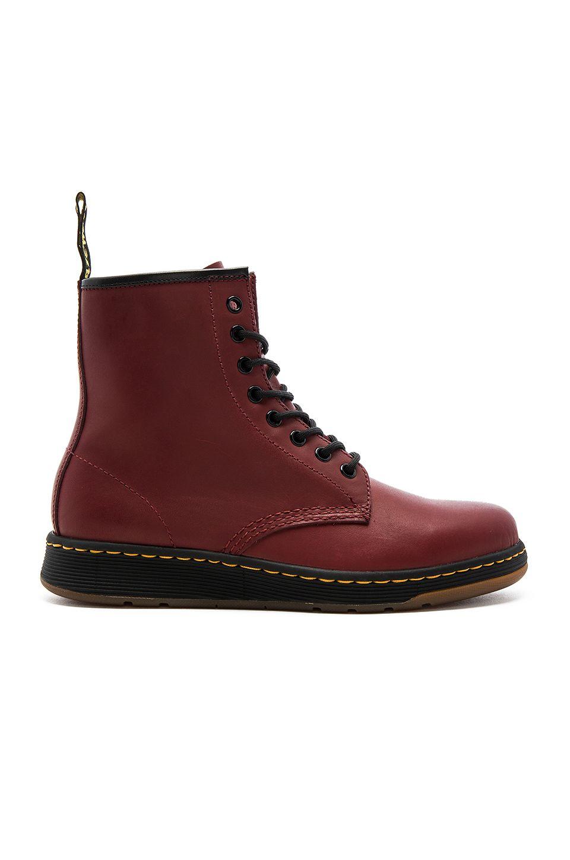 Dr. Dr. Martens Zapatillas Para Hombre Rojo Rojo Cereza Martens Chaussures Pour Hommes Rouge Cerise Rouge aberdeen commander en ligne SVf0fHun