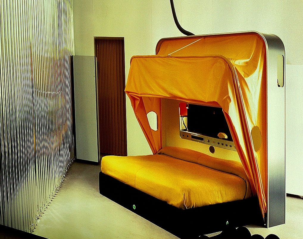 The Cabriolet Bed Designed In 1969 By Joe Colombo Joe Colombo  # Meuble Tv Munari Milano