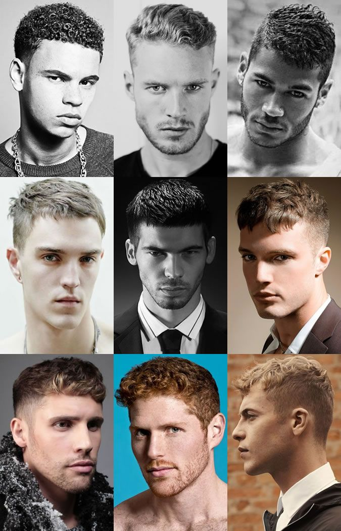 Mens French Crop Modernised Cuts With Shortshaved Back And Sides