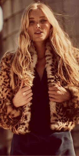 f16c73101aaa Cheetah Print Fur Jacket | Jungle Fever