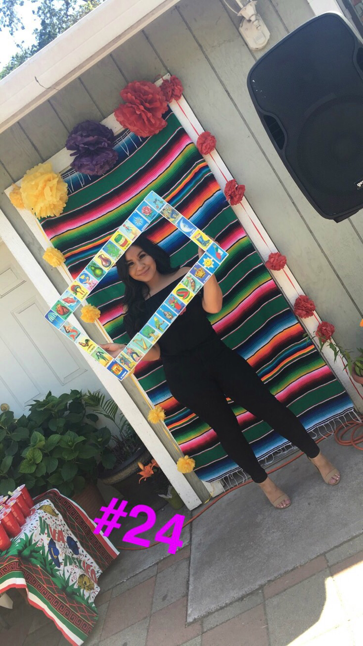 Diy Loteria Picture Frame For Fun Photos At Your Party