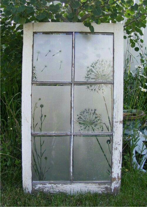 Vintage Door Window Craft Project