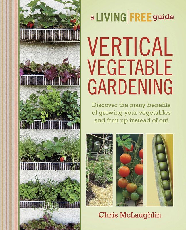 Vertical Vegetable Gardening Book Review @Blissfully Domestic via @natlubrano
