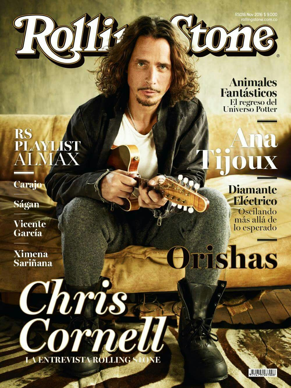 Chris Cornell On Rolling Stone