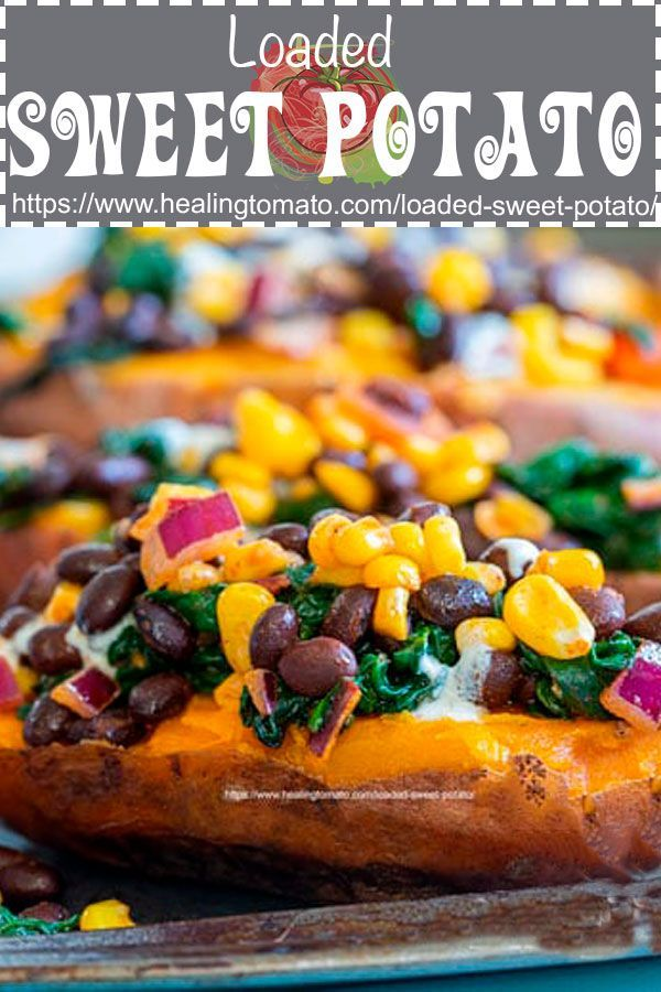 Loaded Sweet Potato