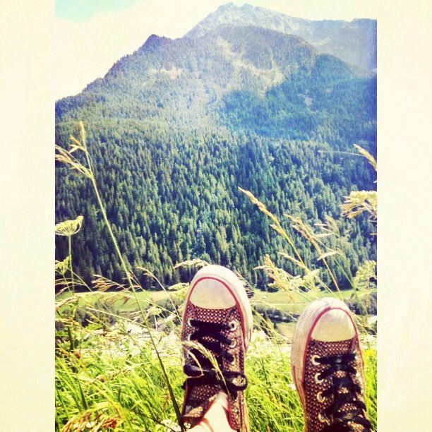 converse in da mountainss
