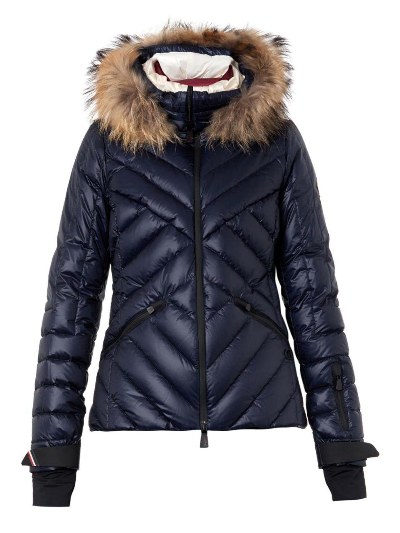 17cf265b8 Makalu fur-trimmed quilted down jacket | Moncler Grenoble ...