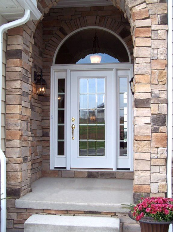 Glass Entry Doors St. Louis With Sidelights | Entrance & Front ...