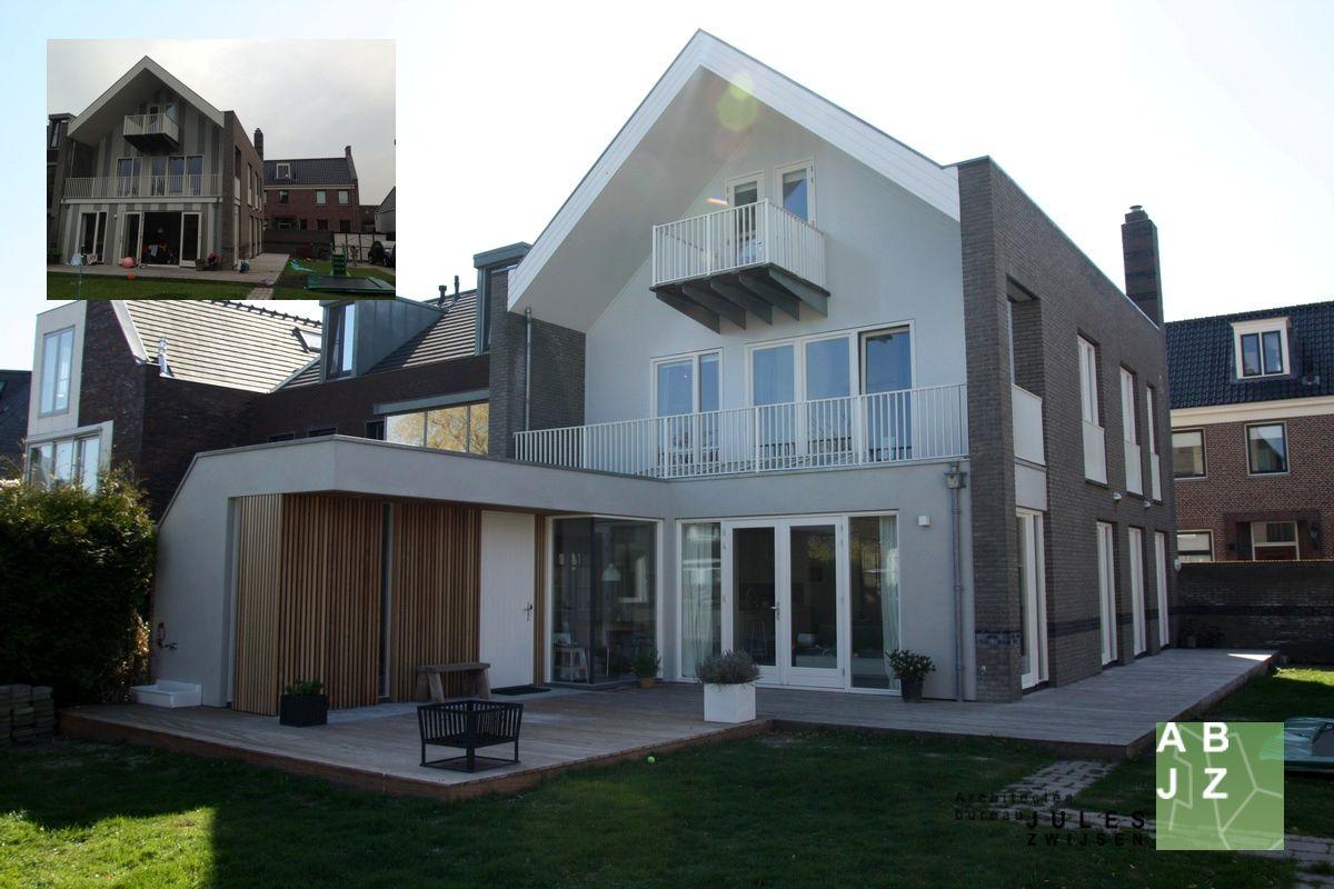 Moderne aanbouw architectenbureau jules zwijsen cronenburgh