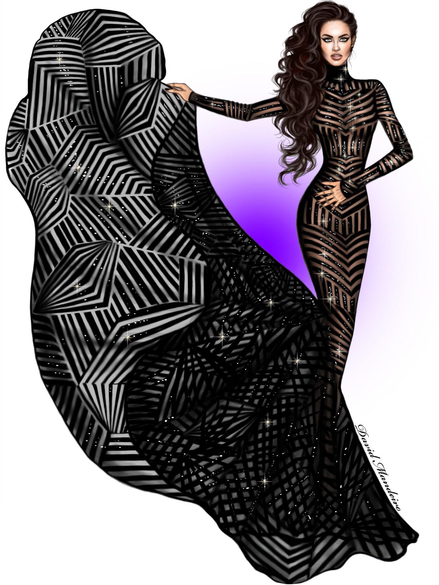 Fashion Illustration Dress