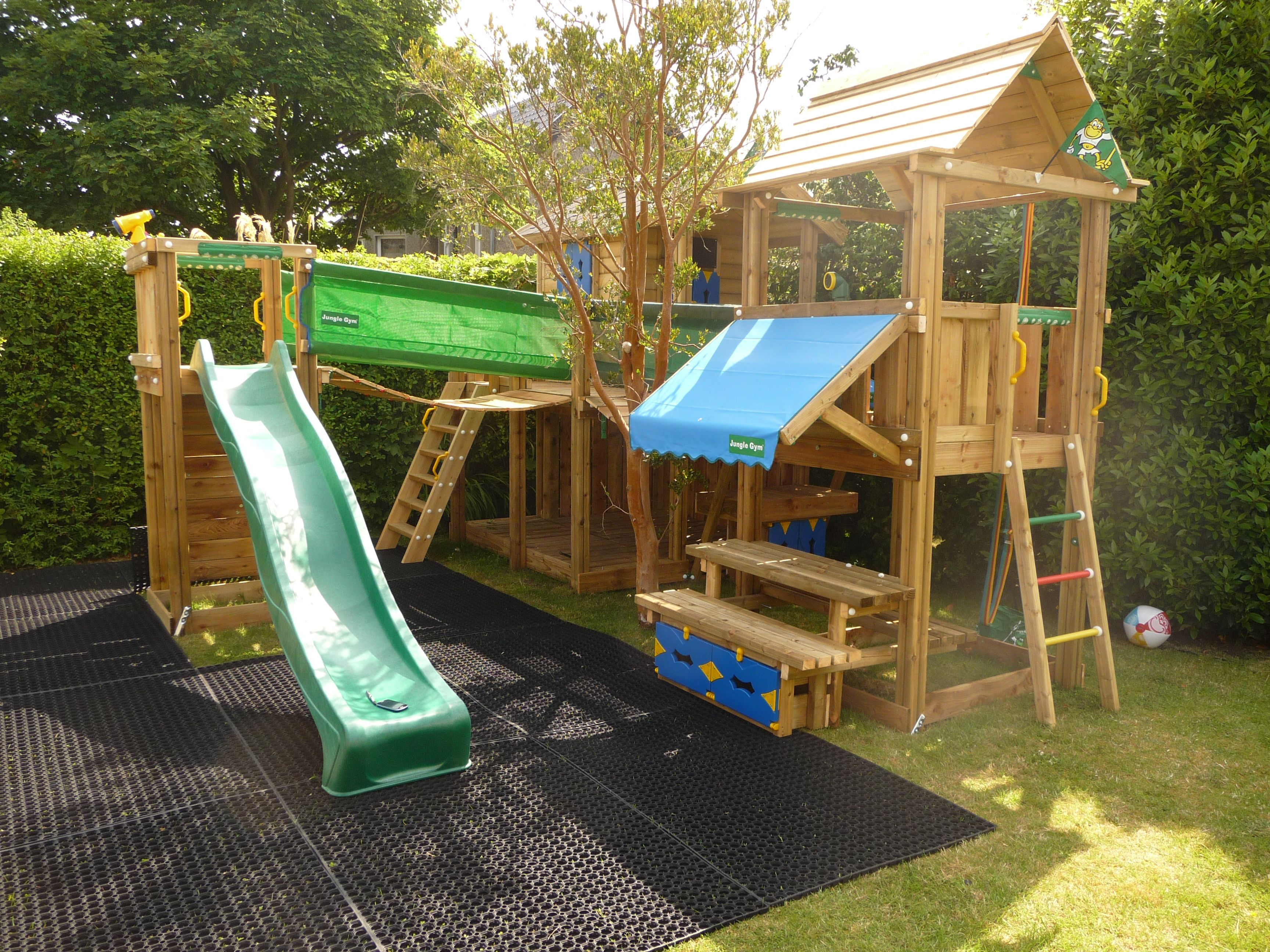 Jungle Gym Built By David Dean For Woodstoc Northern Ireland.